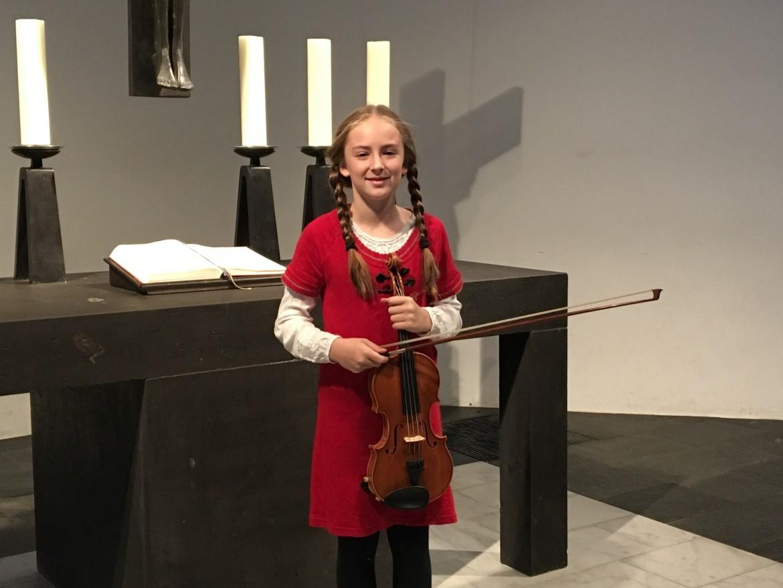 Lara Trautmann, 11, Violine: Sarasate Zigeunerweisen