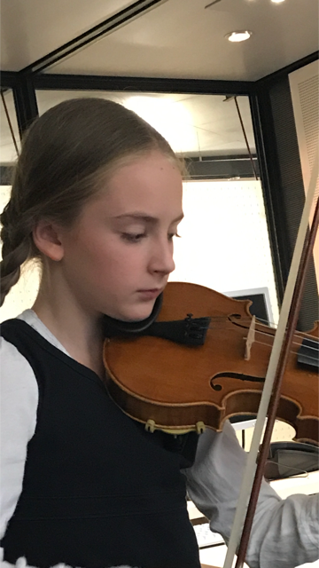 2. Preis mit Geige im LTM-Wettbewerb
