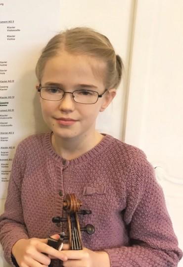 Hurra! Ein 1. Preis beim Jugend musiziert Wettbewerb 2018