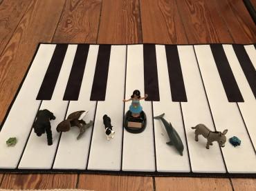 Spielerische Musiktheorie mit 5-Jährigen