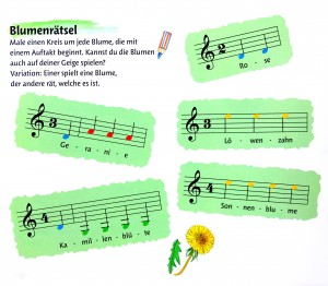 Foto: K. Apostolidis, Bild: Soheyla Sadr, aus: Buntes Geigenwunderland Band 1, © Bosworth Music GmbH