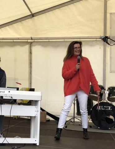 Schülerkonzert beim Blankeneser Straßenfest 2018