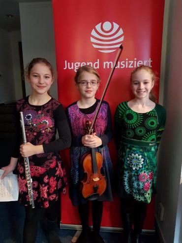 1. Preis bei Jugend musiziert-Landeswettbewerb 2019