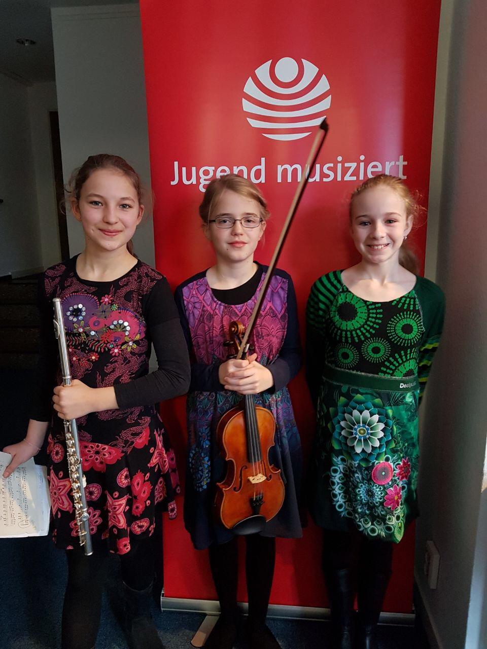 1. Preis bei Jugend musiziert-Wettbewerb 2019