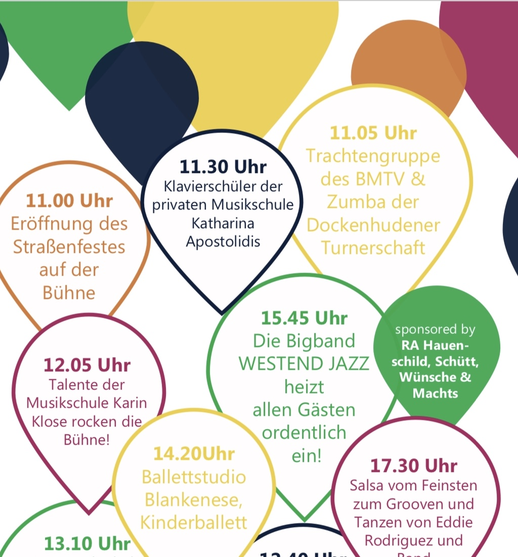 Blankeneser Straßenfest Konzert 21.9.19