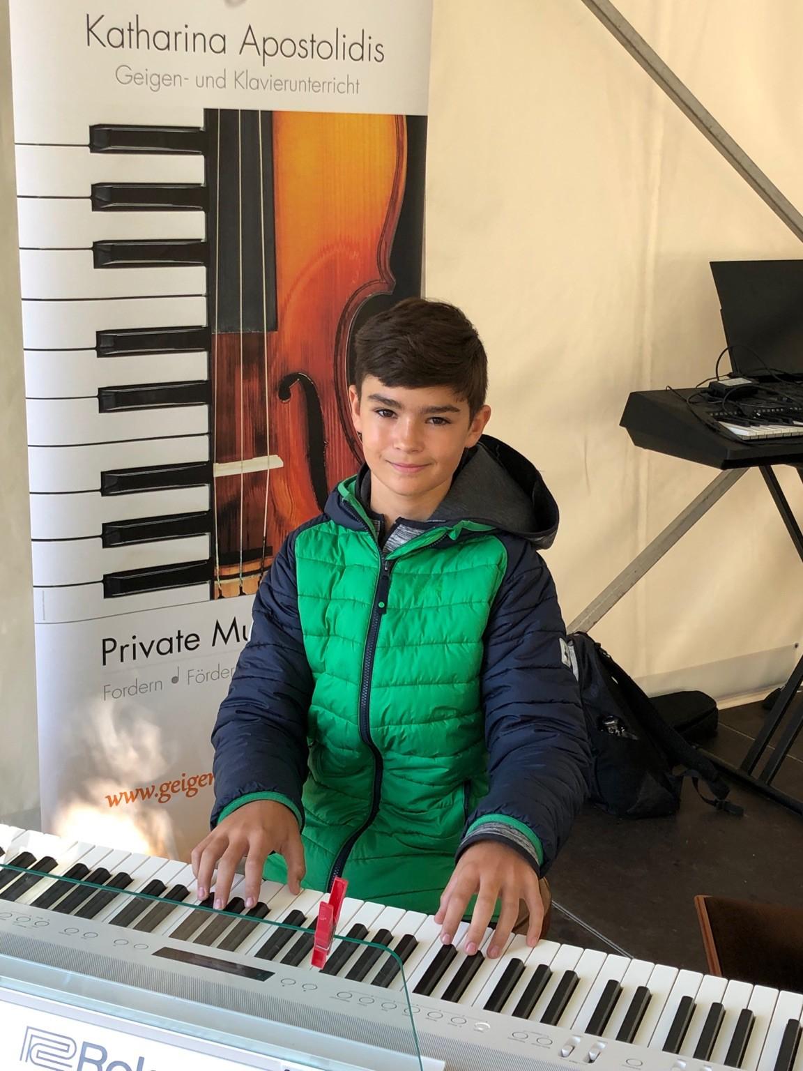 Open-Air-Konzert beim Blankeneser Straßenfest 2019