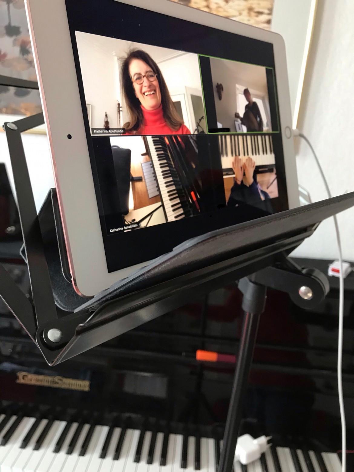 Geigen/Klavierunterricht alternativ per Facetime, Skype, Zoom